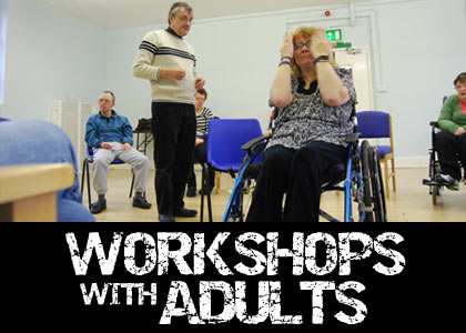 Workshops with adults