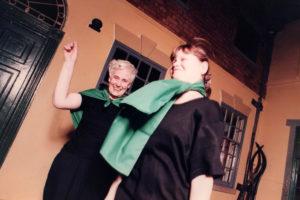 photo of Irene Richardson & Joanne Archibald in Salford Streets