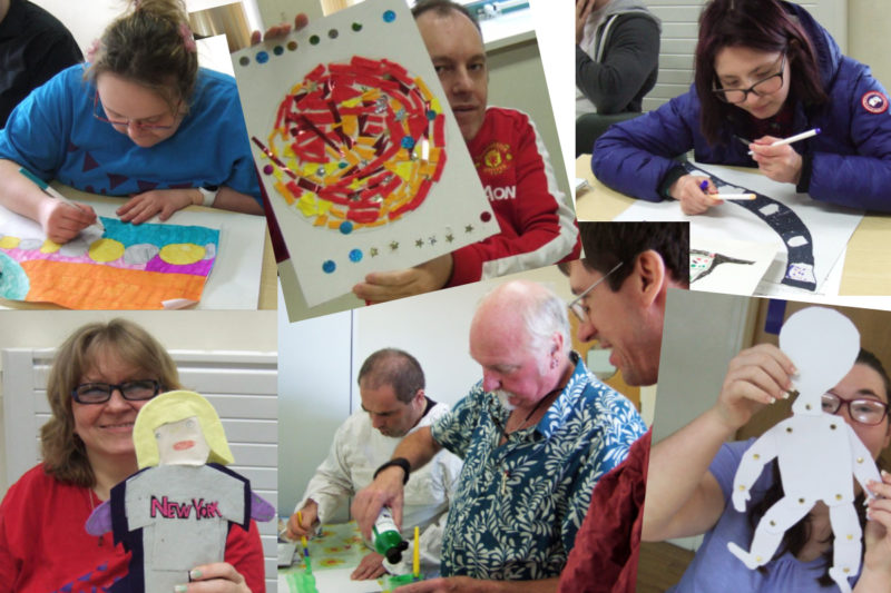 Photos from some of DIY's recent adult courses.