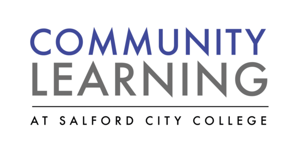 logo for 'Community Learning at Salford City College'