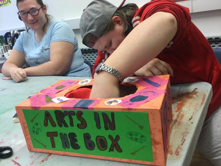 Photo: Arts in the box