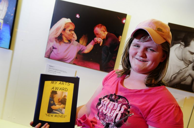 Photo: Arts Award with young people with learning disabilities