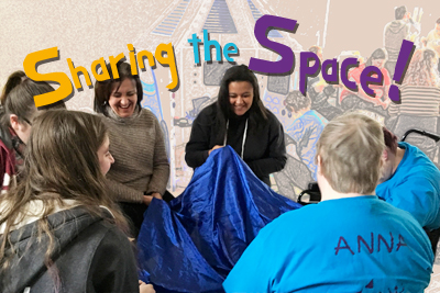 Photo of Sharing the Space! training