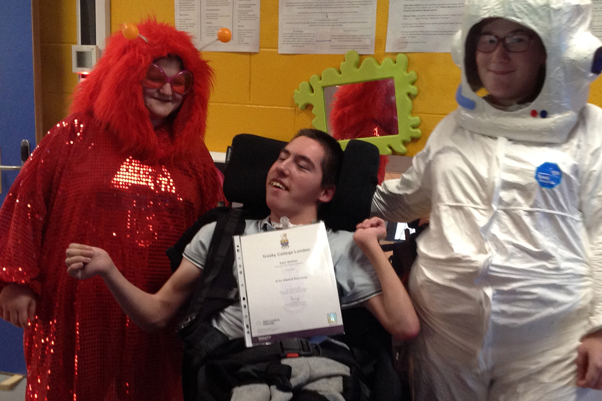 Photo: Celebrating DISCOVER Arts Award Achievements